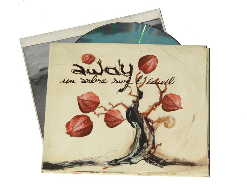 Album Away Cover- Emmanuel Cloix