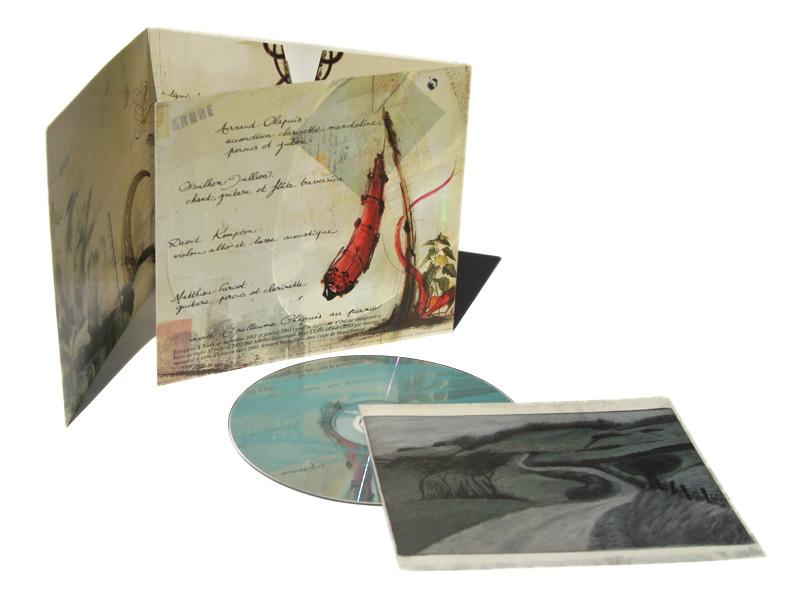 Album Away int - Emmanuel Cloix
