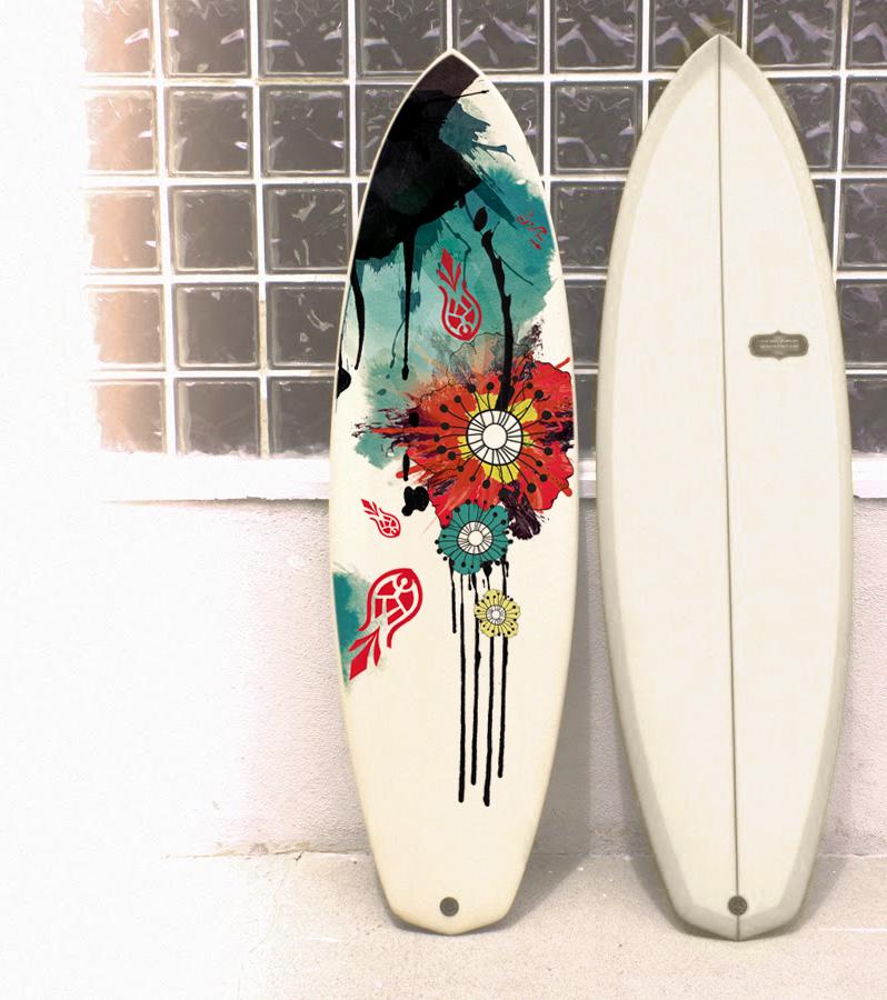 Surf Board - Emmanuel Cloix