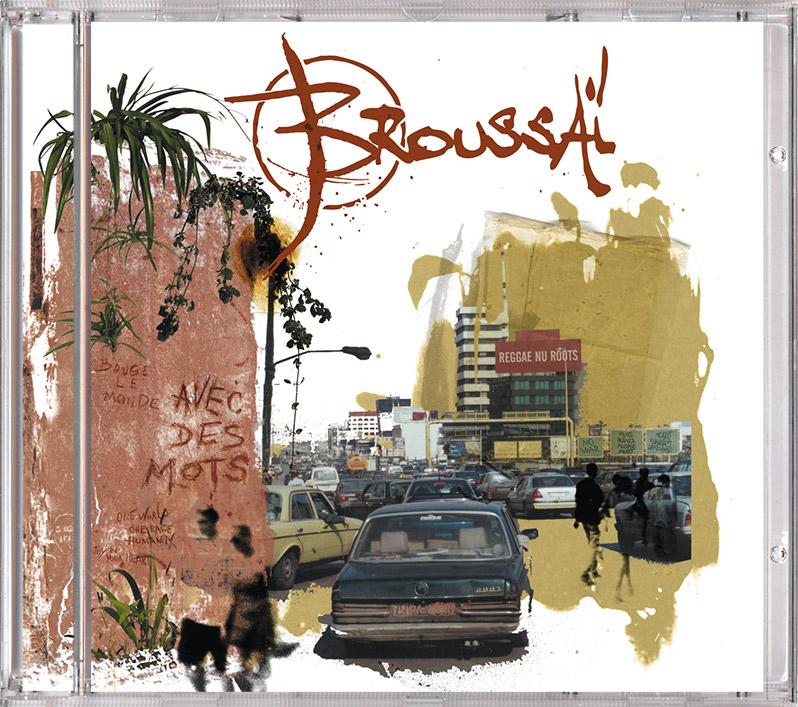 Campagne d'album Broussai Avec des mots CD - Emmanuel Cloix
