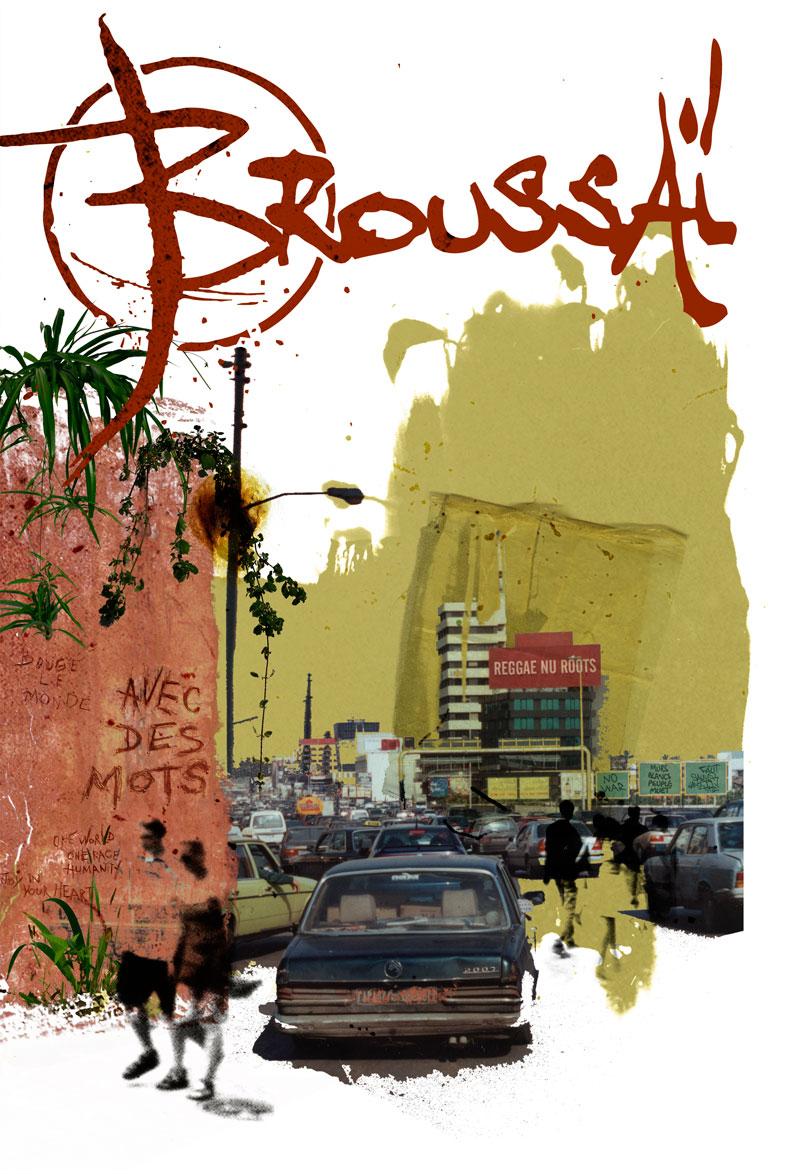 Campagne d'album Broussai Avec des mots - Emmanuel Cloix