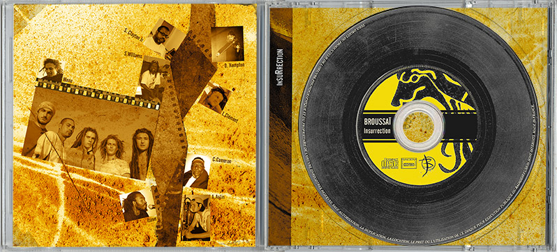 Campagne d'album Broussai Insurrection CD int - Emmanuel Cloix