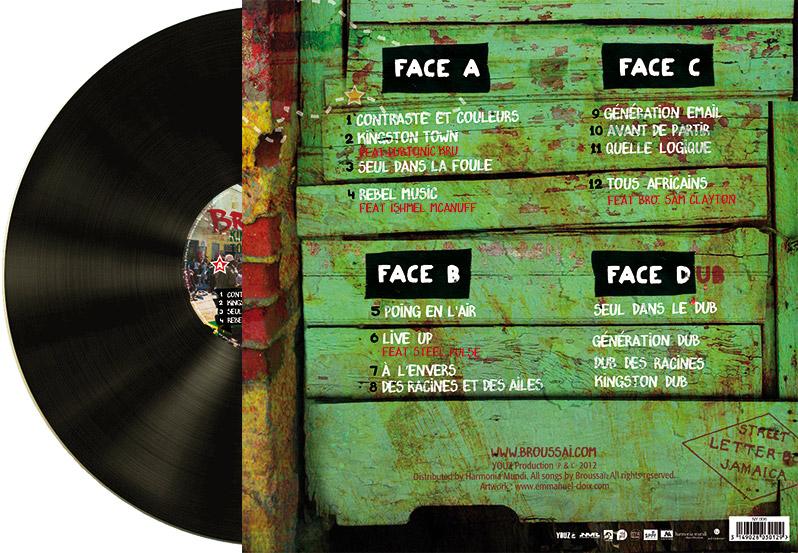 Vynil Broussai Kingston Back - Emmanuel Cloix