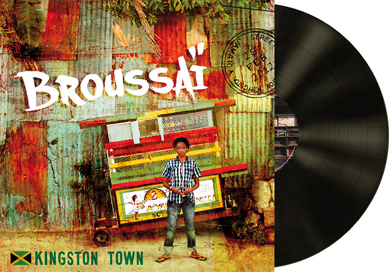 Vynil Broussai Kingston Cover - Emmanuel Cloix