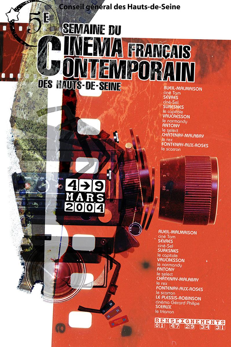 Poster Semaine du Cinéma Contemporain - Emmanuel Cloix