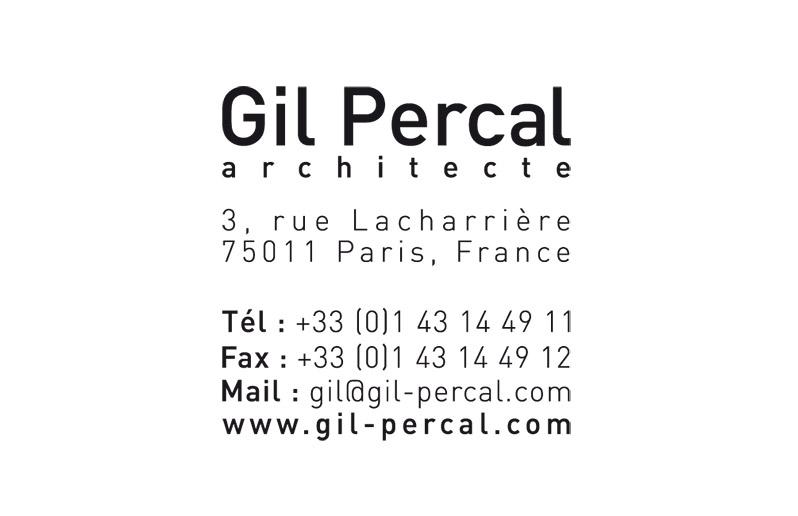 Gil Percal Architect Visual Identity 2 - Emmanuel Cloix