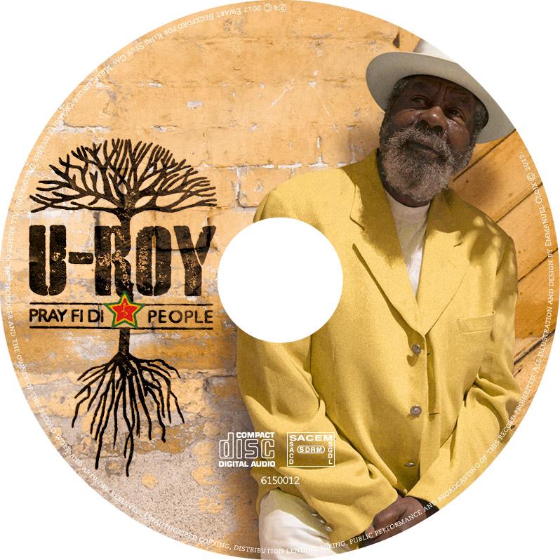 Pochette d'album U Roy CD - Emmanuel Cloix